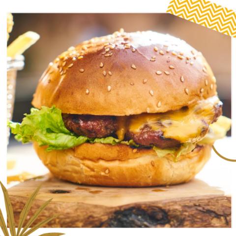 Cheeseburger met 120g Patty
