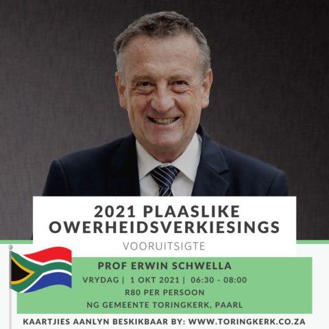 Ontbyt met Prof Schwella